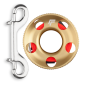 Mobile Preview: Alu Reel 15m gold