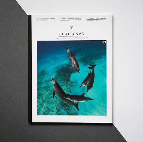 Bluescape No1 Magazin Cover